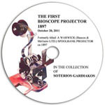 The First Bioscope Projector
