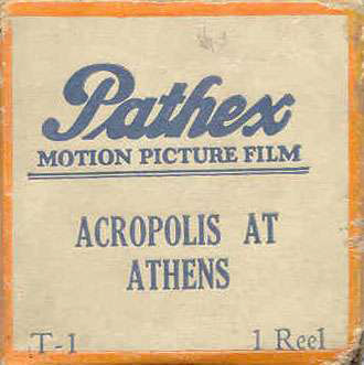 Acropolis at Athens film cover